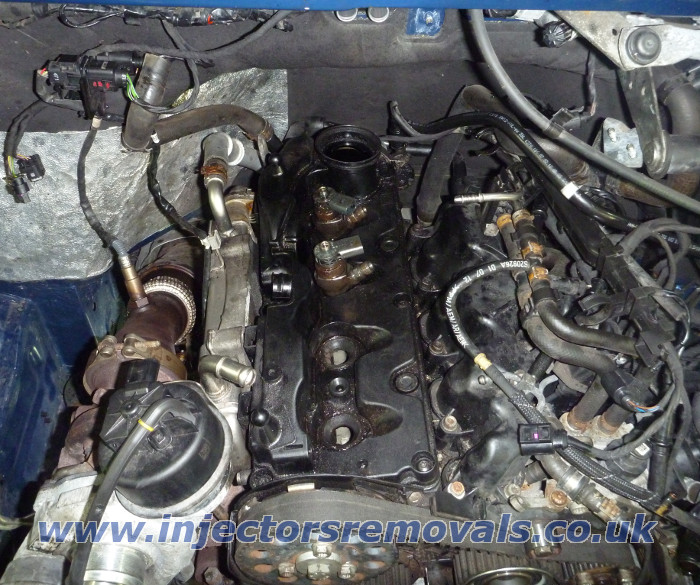 Seized injectors removals from diesel engines with Common Rail