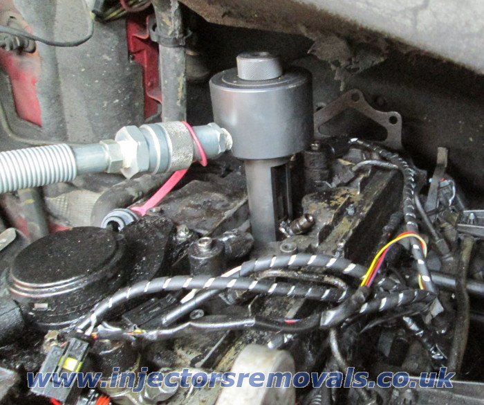 Injector removal from any Mercedes with CDI