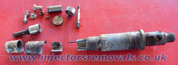 Injectors snapped during profesional injectrors
