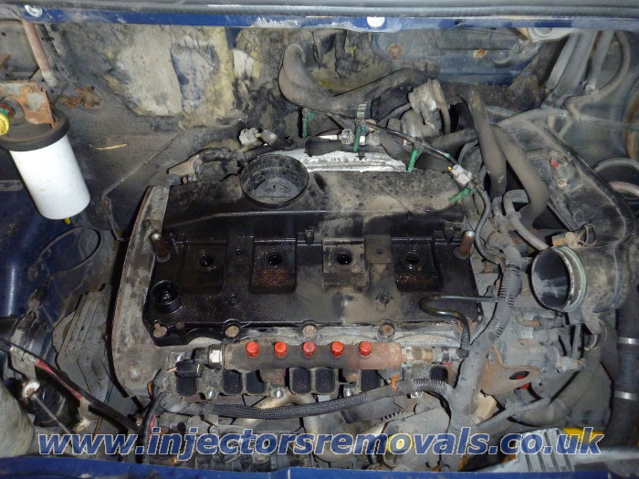 Injector removal from Ford Transit with 2.2 /