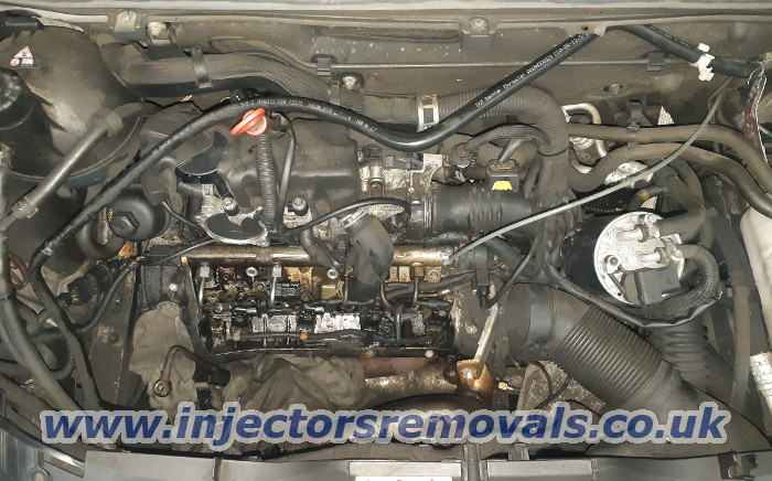 Injector removal from Mercedes A class W169 with